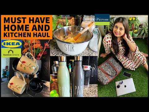 HUGE KITCHEN AND STORAGE HAUL | AMAZON IKEA HOMECENTRE KITCHEN AND ORGANIZERS | NEW BAG REVIEW