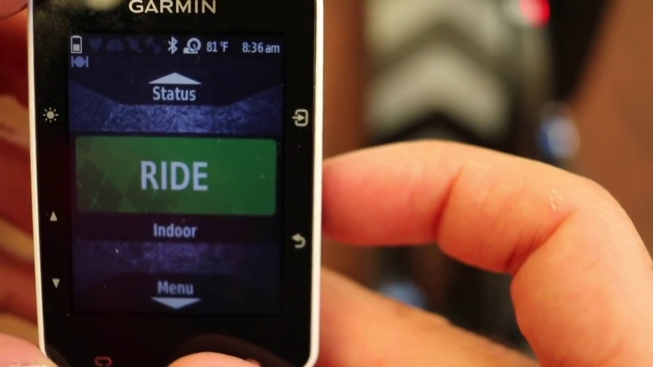 How To Add Your Smart Bike Trainer To Your Garmin Edge