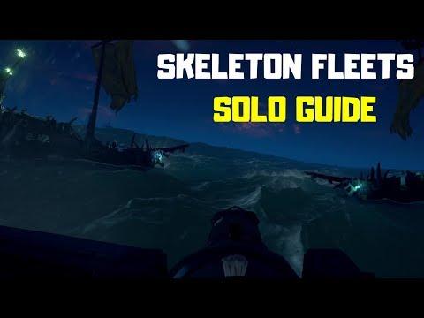 Sea of Thieves: How to solo the Skeleton Fleets (Guide)