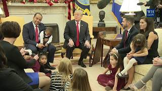President Trump Leads a Discussion with American Business Owners and Their Families