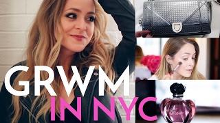 GRWM in NEW YORK | Fleur De Force