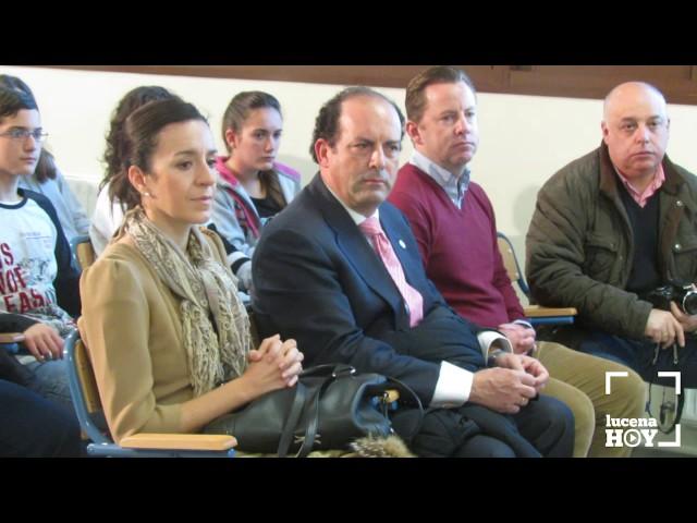 Vídeo: José Antonio Nieto ofrece en el IES Sierra de Aras una conferencia sobre la Constitución Española