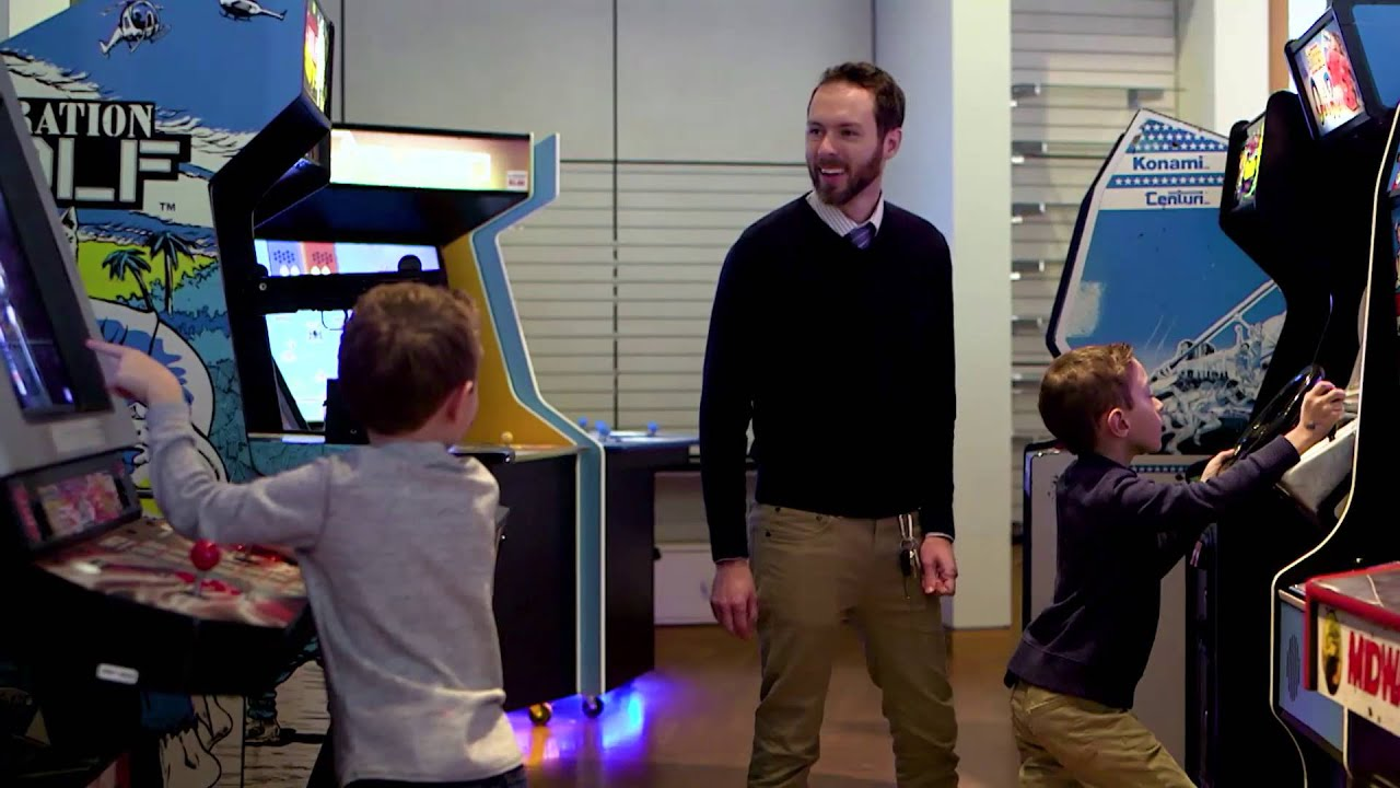 Indiana State Museum and our Charity Arcade - Video Game Palooza