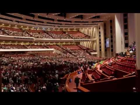 Time-lapse of the Conference Center During General Conference