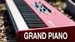 NORD PIANO 4 | GRAND PIANO SOUND LIBRARY COMPARISON | JAZZ