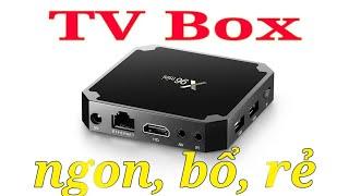 Android TV box X96 mini giá 450k và trải nghiệm thực tế