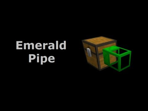 Emerald Pipe (Tekkit/Feed The Beast) - Minecraft In Minutes