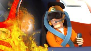 Strażak Sam⭐️ Nowe Odcinki Jak zostać pilotem śmigłowca Bajki dla dzieci