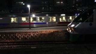 夜の南福岡駅に811系が到着 JR九州 鹿児島本線 2017年12月31日