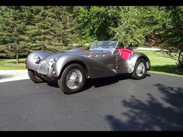 1950 Allard J2 Competition 2-Seater Full Size Wings & Engine Sound - My Car Story with Lou Costabile