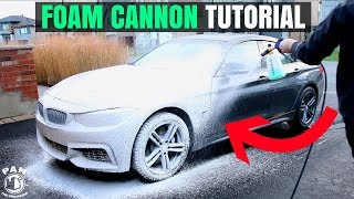 FOAM CANNON CAR WASH TUTORIAL !! (+GIVEAWAY!!)