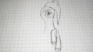 Как нарисовать пони Dazuki