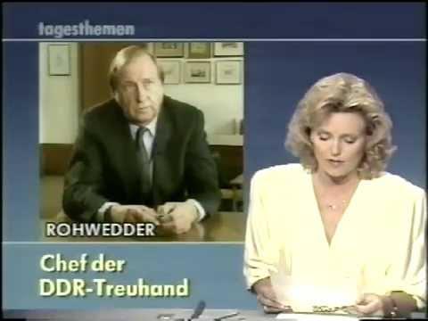 tagesthemen / Bericht aus Bonn 29. Juni 1990