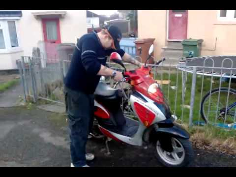 HOW TO DERESTRICT A 125CC MOPEDS