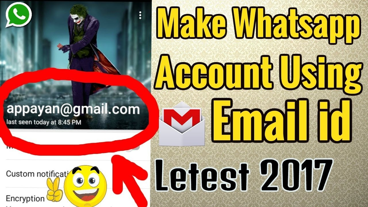 how to find gmail id using mobile number