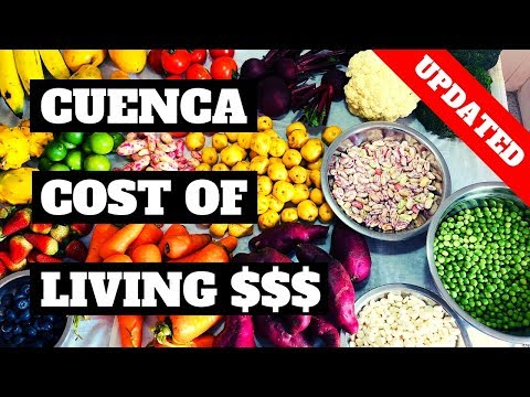 Cuenca Ecuador Cost Of Living 2019 (Updated W/ REAL Prices)