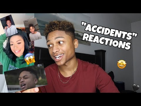 """REACTING TO YOUR """"ACCIDENTS"""" VIDEOS / BEHIND THE SCENES 