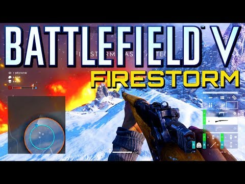 Battlefield 5 Firestorm PS4 Pro Gameplay