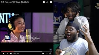 TNT BOYS   FLASHLIGHT JESSIE REACTION