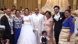 Ouau Keke Mali 'o Mrs Vai Mapapalangi -  Wedding Cake Ceremony
