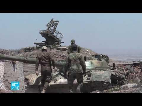 الجيش السوري يرفع العلم على تل قريب من القنيطرة  - نشر قبل 1 ساعة