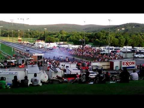 Kye Kelley vs Ronnie Proctor @ Mason Dixon Dragway 7-1-17