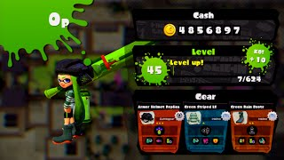 Splatoon - Reaching Level 45