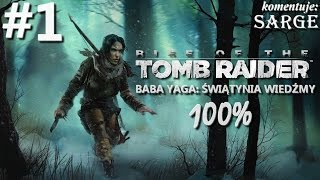Zagrajmy w Rise of the Tomb Raider: Baba Yaga Świątynia Wiedźmy DLC (100%) odc. 1 - Co za klimat!