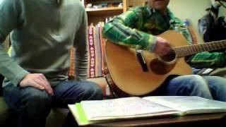 ザ・ビートルズの IF I FELLを友人とハモッてみました。 中学生...
