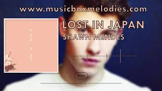 Lost in Japan (Music box version) by Shawn Mendes
