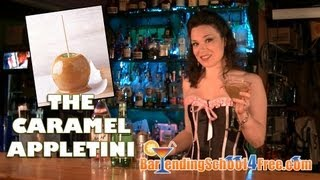 Caramel Appletini Drink Recipe