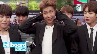 BTS Reflects on Most Awkward Awards Show Moment | Billboard News