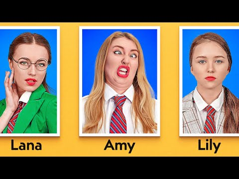 TYPES OF STUDENTS ON PICTURE DAY || Funny Situations At School by 123 GO!