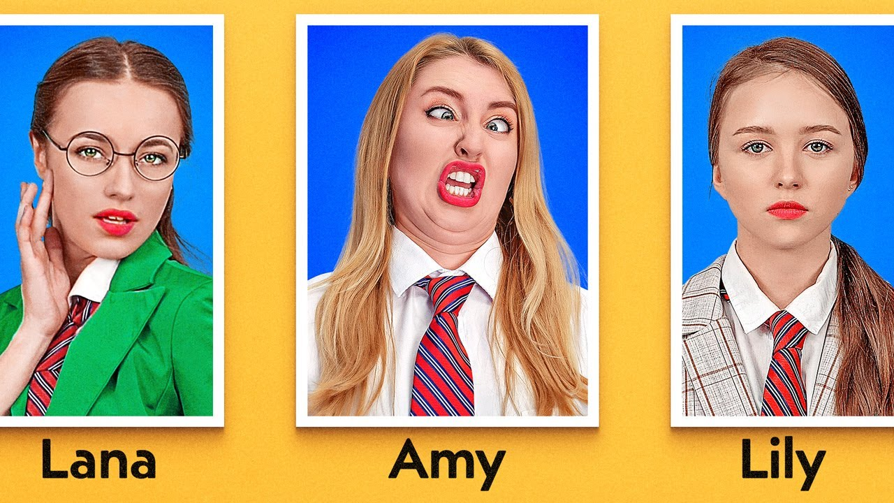 Types Of Students On Picture Day Funny Situations At School By