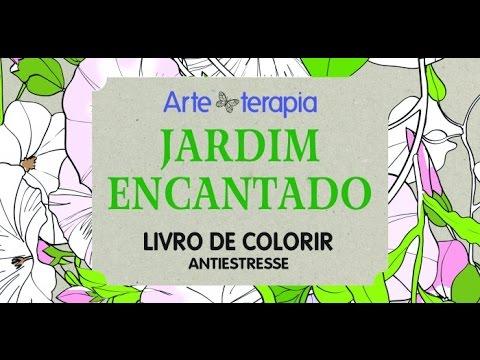 Livro De Colorir Jardim Encantado Editora Alaude Youtube