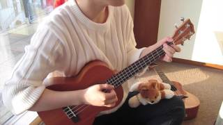 星晴 周杰伦 ukulele version
