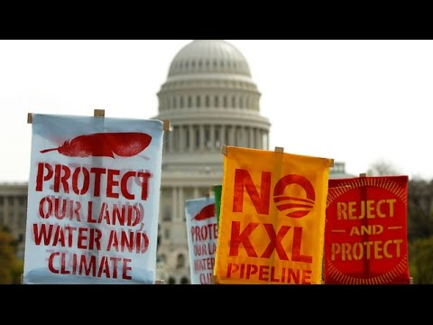 Obama Vetoes Keystone XL Bill, But Fight over Climate Threatening Oil Pipeline Isn't Over