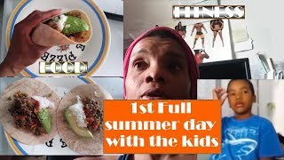 1st Full summer day with the kids | NEW Fitness Schedule