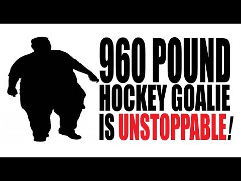 World S Fattest Hockey Goalie To Sign With Ny Rangers Youtube