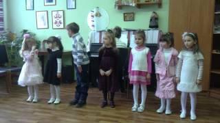 открытый урок вокального ансамбля