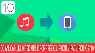 Download How To DOWNLOAD MUSIC On iPhone iOS 10.2 100% Free, Pemanent, NO JB/PC