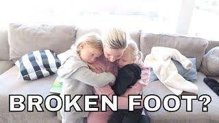 INDIE Hurts Her FOOT-Is It BROKEN?