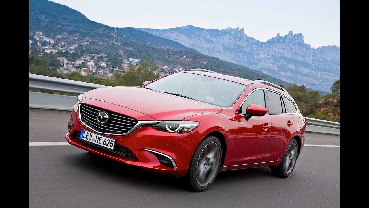 2018 Mazda 6 Wagon Canada Specs Price and Review - YouTube