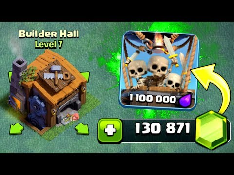 Thumbnail: GEMMING BUILDERS HALL 7! - UNLOCKING ALL NEW FEATURES! - Clash Of Clans