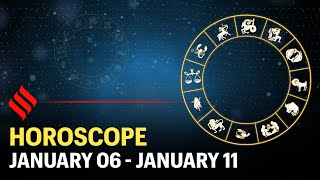 Weekly Horoscope: Your week ahead (06 - 11 Jan'2020)