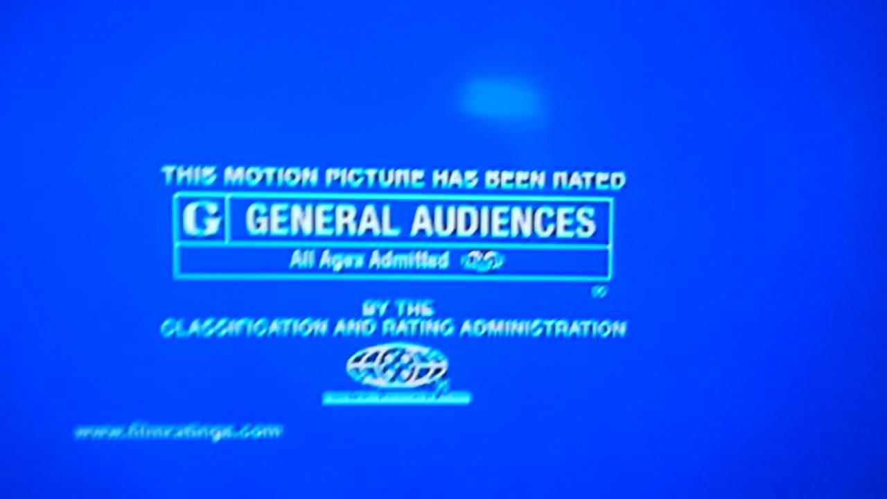 MPAA G Screen/FBI Warning Screen