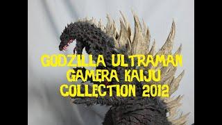 Ultraman Godzilla Gamera Kaiju collection 2012