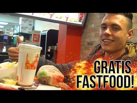 VEEL GRATIS FASTFOOD FIXEN! Mc Donalds, Burger King, KFC!