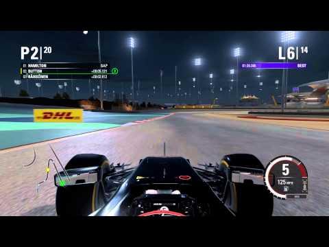 F1 2015 Gulf Air Bahrain Grand Prix 60fps PC Gameplay (Max Settings)