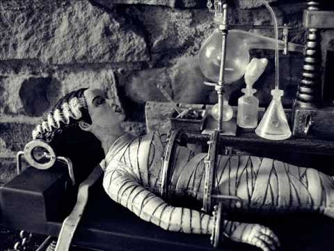 Aurora Bride of Frankenstein Model Kit